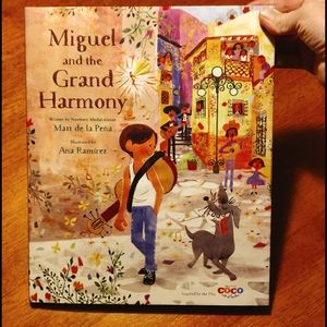 """Miguel and the Grand Harmony"" book"